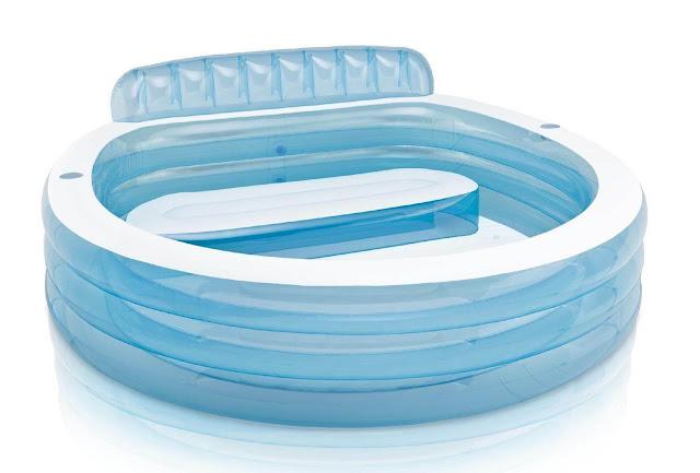 SAVE 130$ Intex Swim Center Family Lounge Pool