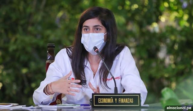 María Antonieta Alva, informó el plan económico del Perú frente al coronavrus