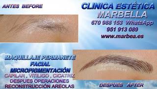 micropigmentyación ALMERIA clínica estetica entrega los mejor servicio para micropigmentyación, maquillaje permanente de cejas en ALMERIA y marbella