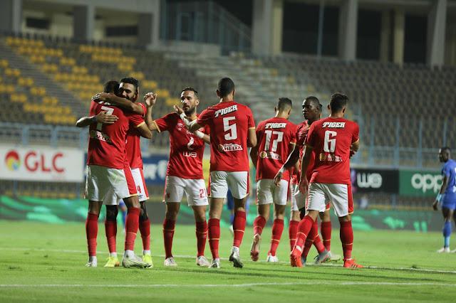 ملخص اهداف مباراة الاهلي واسوان (2-1) الدوري المصري