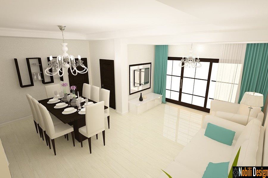 Design interior casa moderna Bucuresti | Servicii design interior - Arhitect - Amenajari Interioare