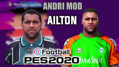 PES 2020 Faces Ailton by Andri Mod
