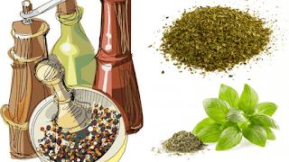 <img source='pic.gif' alt='poudre de basilic sec et ses bienfaits pour une santé naturelle.' />