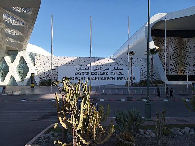 aeroporto menara di marrakech