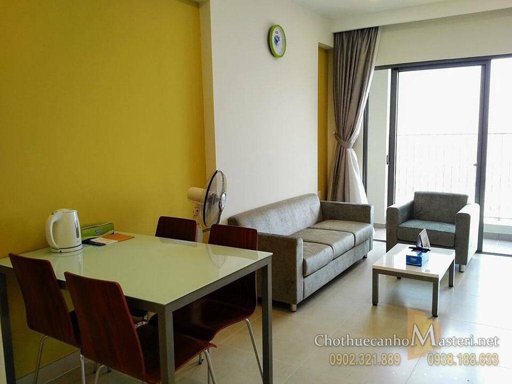 Cho thuê Masteri Thảo Điền T1 block A tầng 27 căn hộ 2PN view đẹp - hình 2