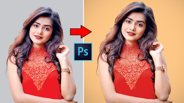 How to Change Background color in Photoshop