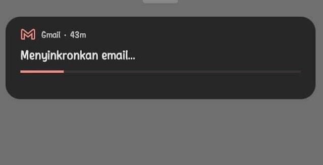 Cara Menghilangkan Pemberitahuan Menyinkronkan Email di Aplikasi Gmail