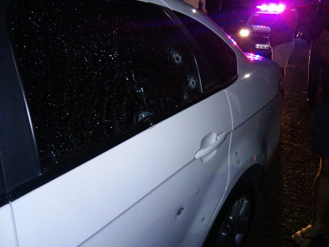 Assalto e tiroteio na Rua Caetés
