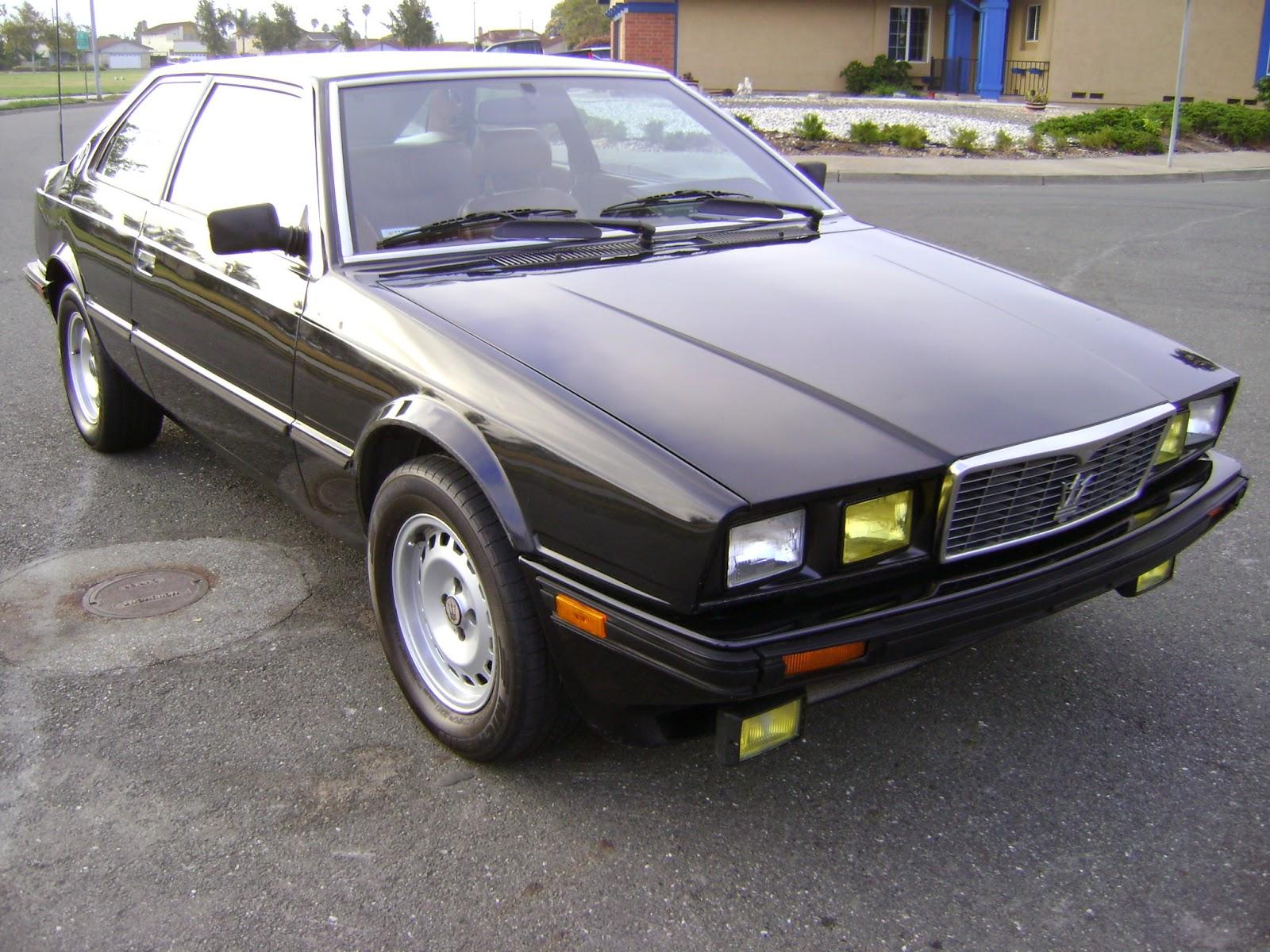 Daily Turismo: 3k: Don't Mase Me Bro: 1984 Maserati Biturbo Coupe 5 Spd