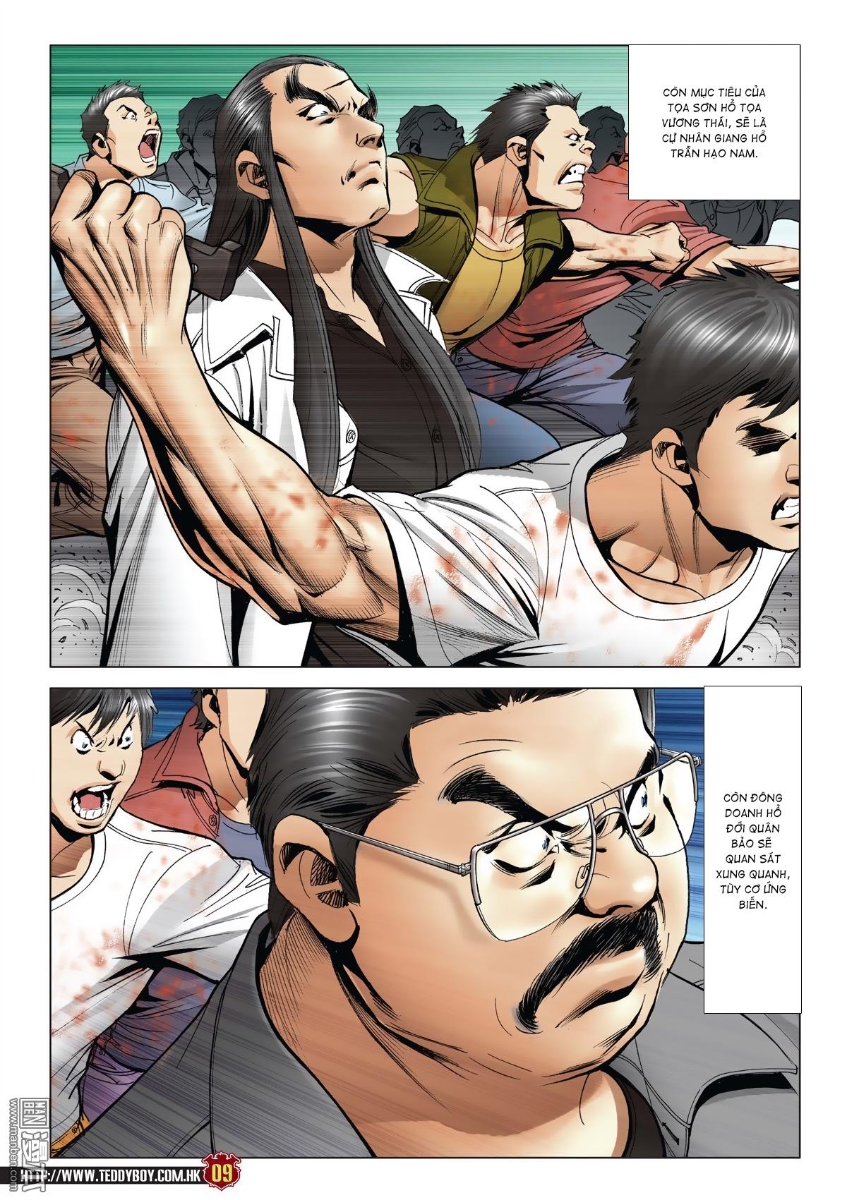 Người Trong Giang Hồ chapter 2015: tọa sơn hổ vs đại phạn trang 6