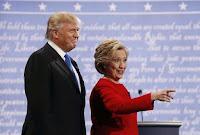 """inforgraphic clinton vs trump: """"Cân nặng"""" hai ứng viên tổng thống trên mạng xã hội"""