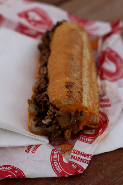 American Food at Liberty Cheesesteak Company