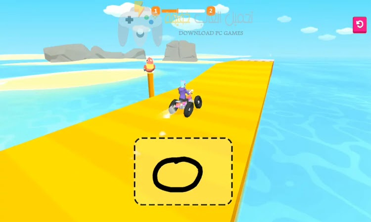 تحميل لعبة Scribble Rider للجوال
