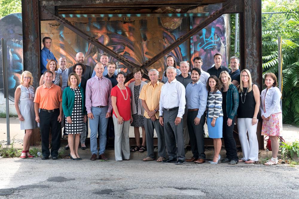 Corporate Group Portrait on Location SudeepStudio.com Ann Arbor Professional Business Portrait Photographer