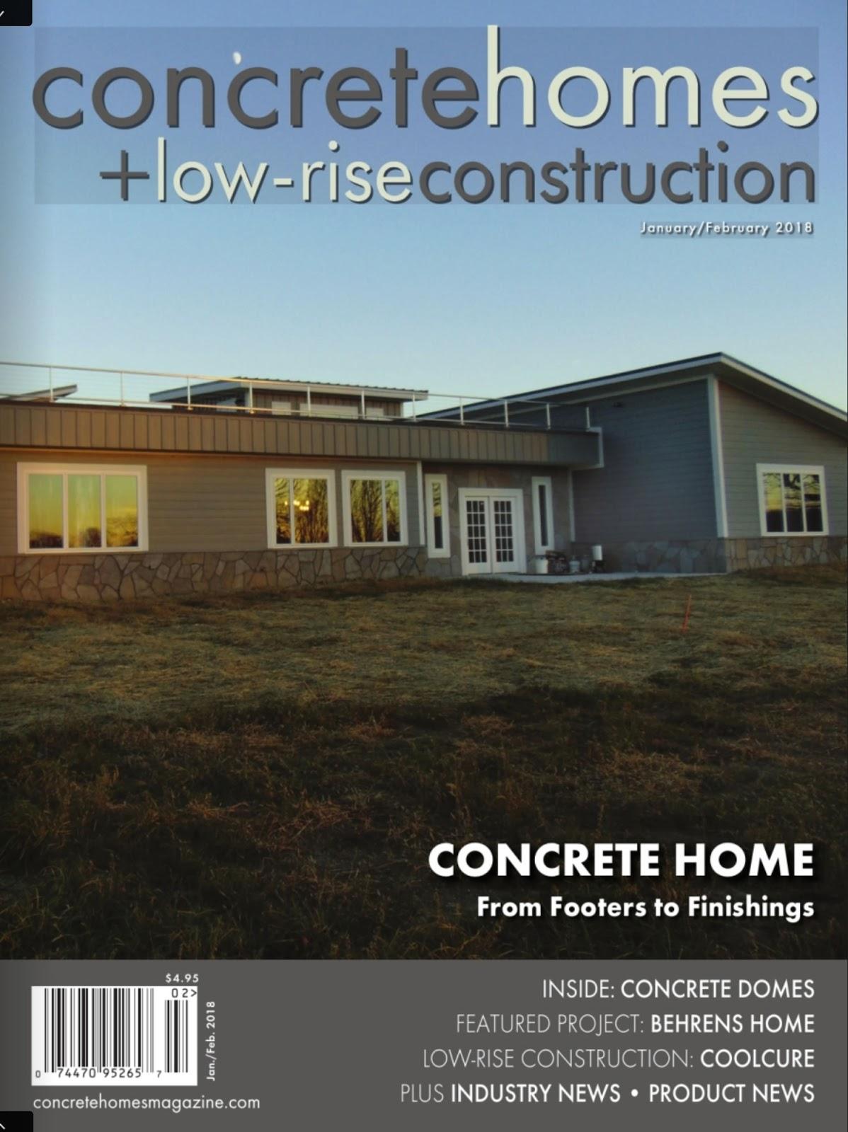 News & Press: Concrete Homes & Low-Rise Construction News