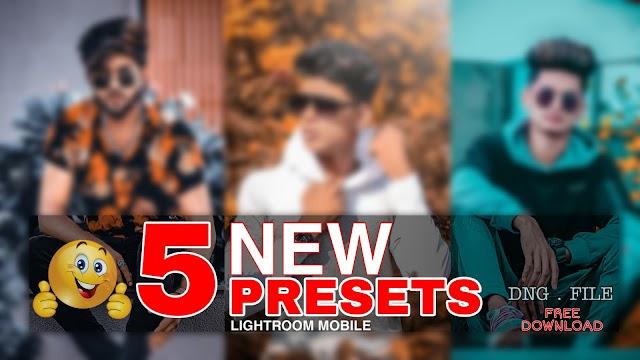 5 New latest lightroom mobile presets download free 2020