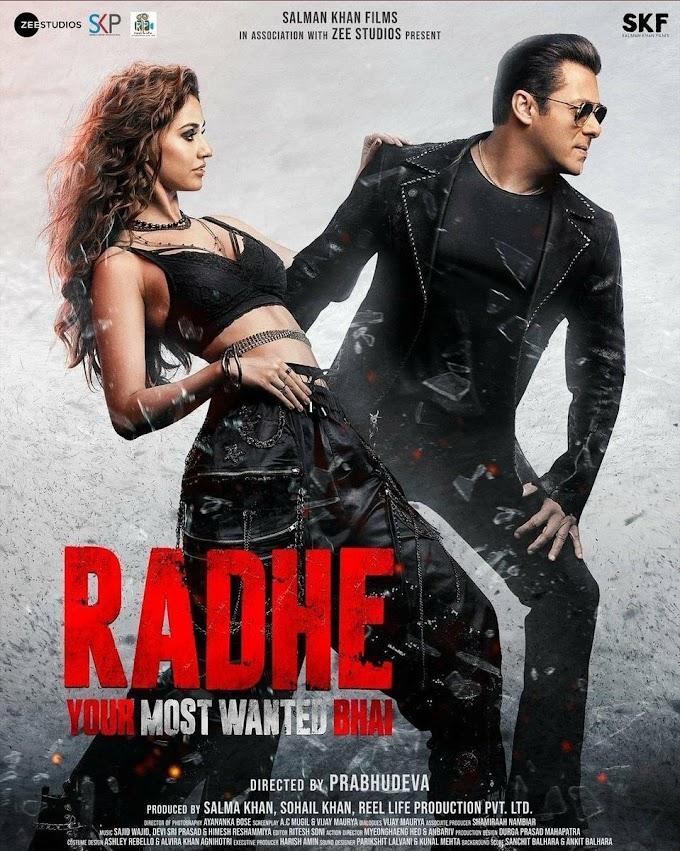 Radhe (Salman Khan) Full Movie Download 2021 Moviesyug