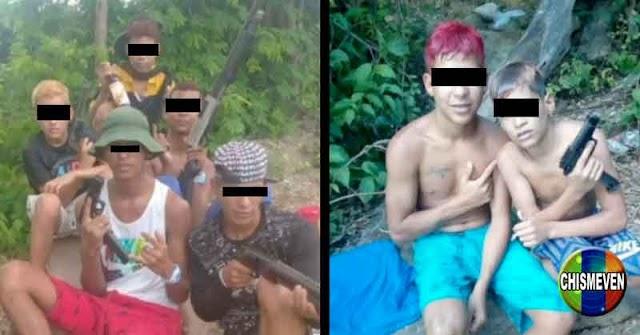 BICHITOS   Revelan fotos de nueva banda de secuestradores y azotes de los Valles del Tuy
