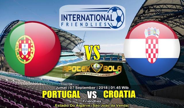Prediksi Portugal Vs Kroasia 7 September 2018