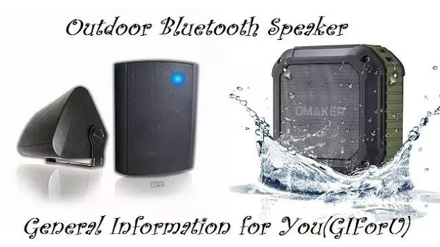outdoor speakers, outdoor bluetooth speakers, best outdoor speakers