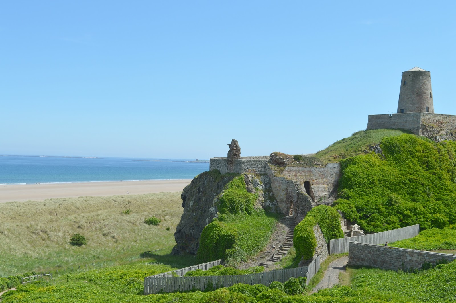 The Grange Bed and Breakfast in Northumberland - Bamburgh Castle