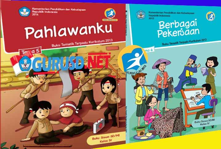 Buku Pegangan Guru Dan Siswa Kurikulum 2013 Kelas 4 Sd Mi Revisi 2016 Kurikulum Nasional