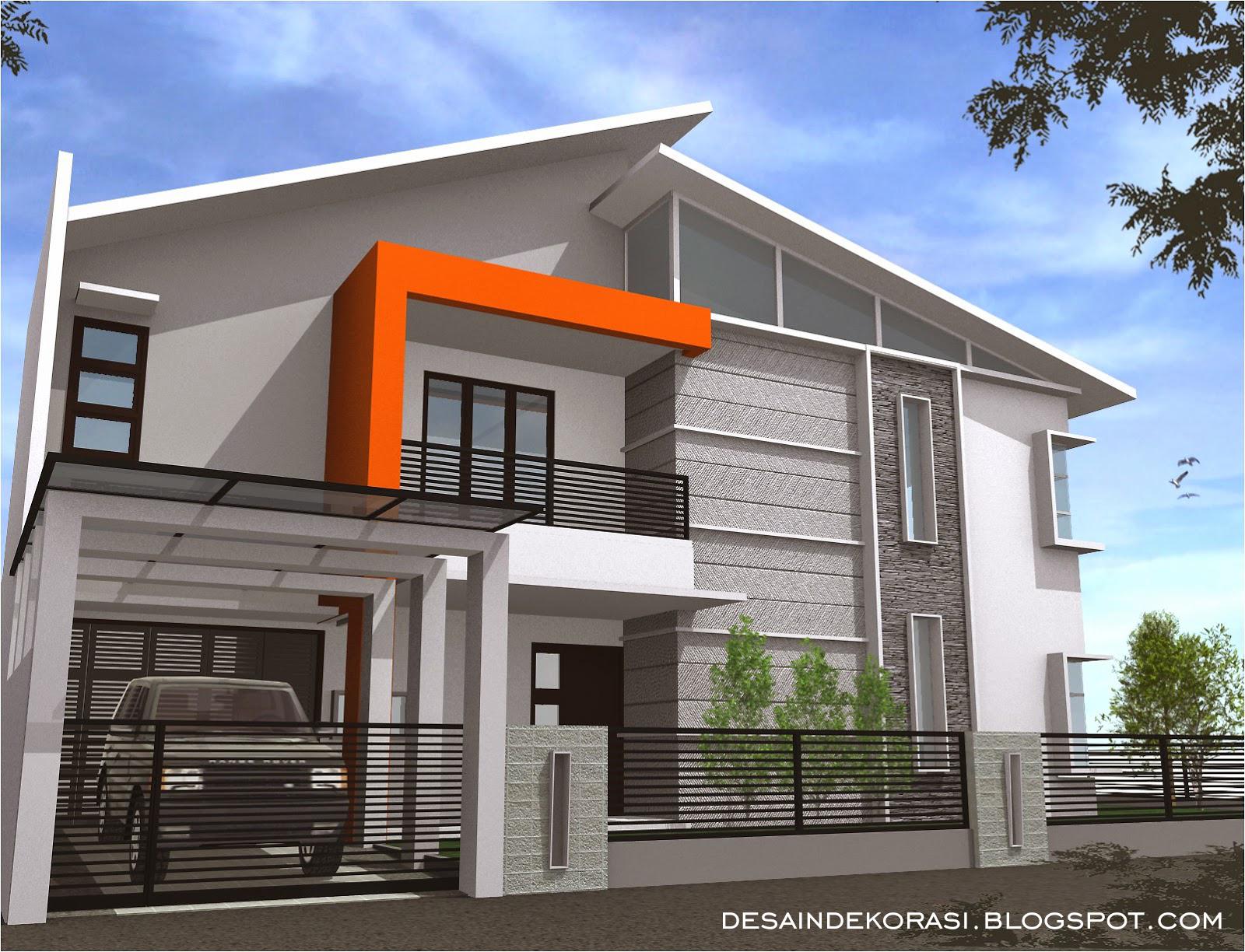 Contoh Arsitektur Pagar Rumah Minimalis Dan Gambar Desain Dekorasi