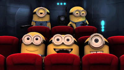 Cinema em casa para o dia das crianças