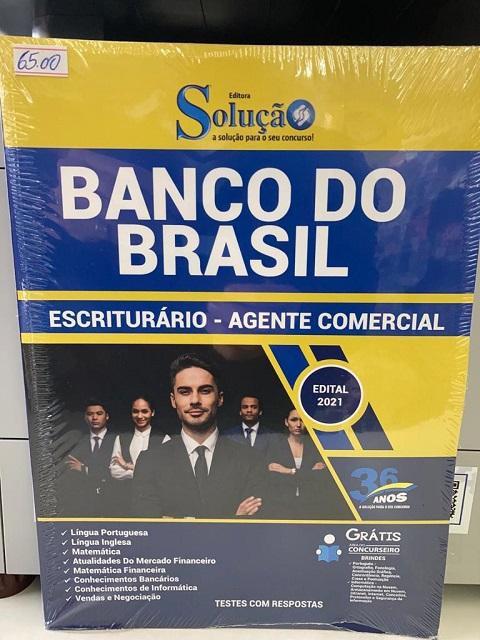 Você encontra a Apostila do Banco do Brasil na Banca Vanildo em Registro-SP