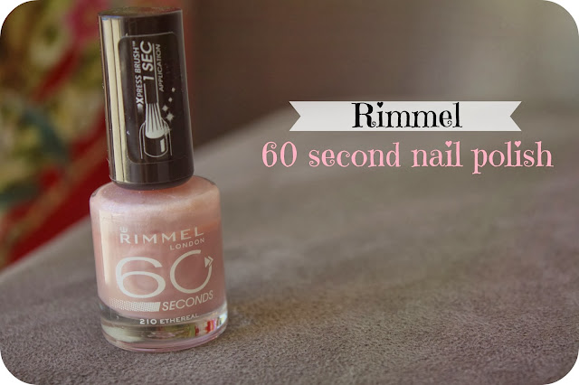 Australian Beauty Review Nail Polish Of The Week Rimmel Ethernal