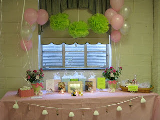Bridal Shower Welcome Table- - The Creative Confectionista