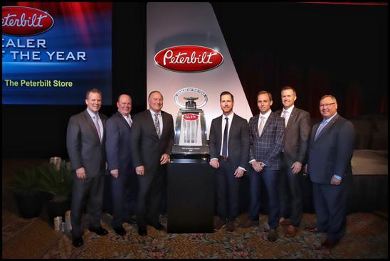 Peterbilt Announces The Peterbilt Store as 2018 Dealer of the Year
