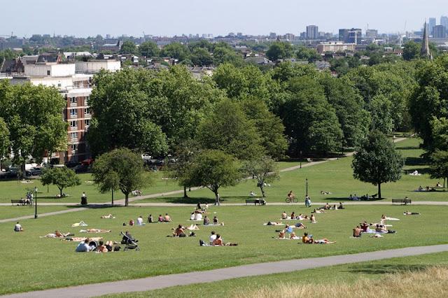 Hampstead Heath em Londres