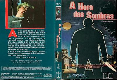 Filme A Hora das Sombras (Final Exam) DVD Capa