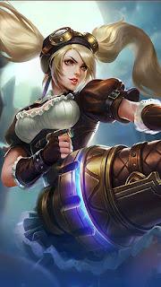 Layla Malefic Gunner Heroes Marksman of Skins V3