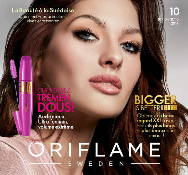 catalogue oriflame tunisie octobre 2019