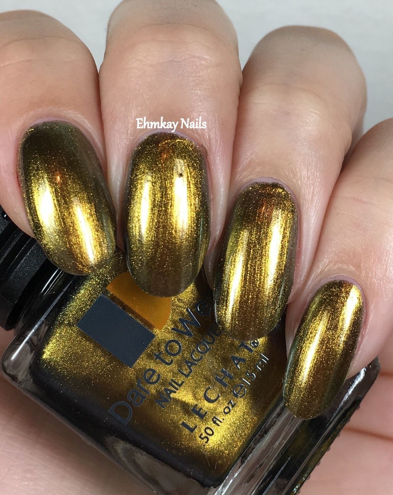 ehmkay nails: Lechat Dare to Wear Metallux Collection, Swatches and ...