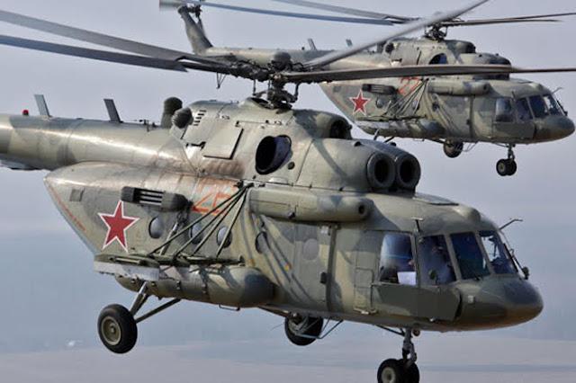 Rusia crea base de helicópteros en Siria