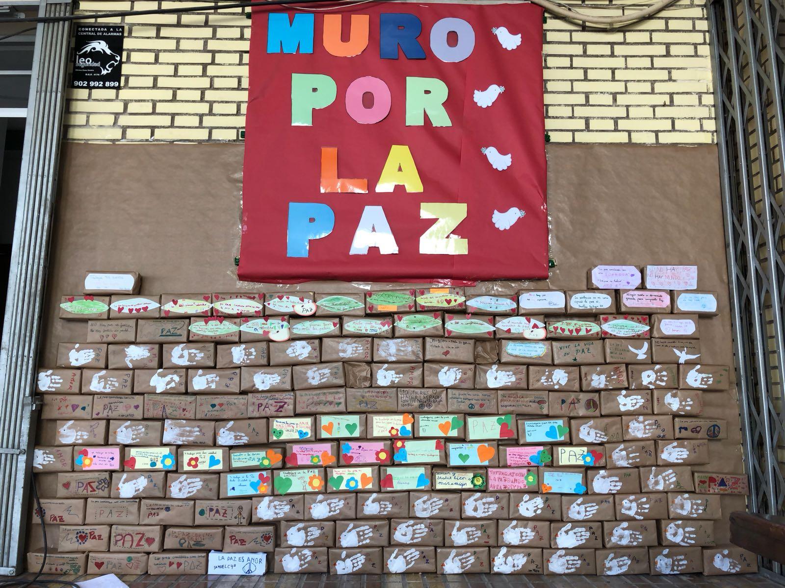 Ceip Virgen Del Carmen Construimos El Muro De La Paz