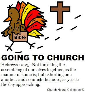 Church House Collection Blog Turkey Clipart