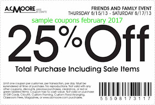 AC Moore coupons february