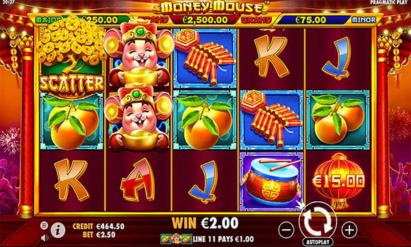 Main Gratis Slot Indonesia - Money Mouse (Pragmatic Play)
