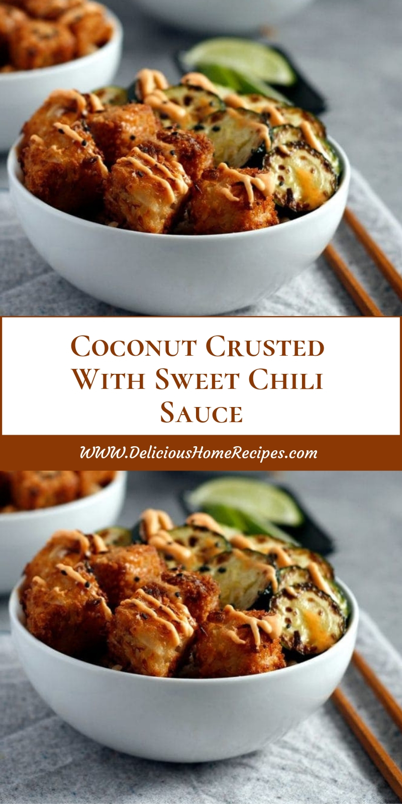 Coconut Crusted With Sweet Chili Sauce