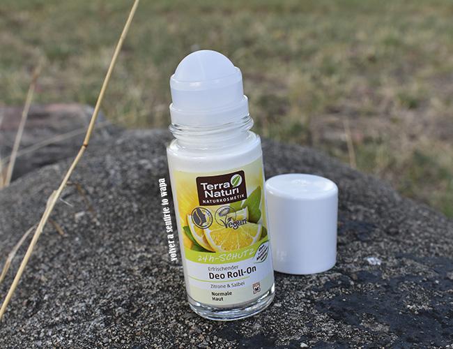 Desodorante natural y vegano de Terra Naturi