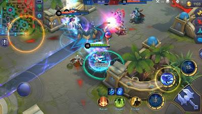 cara menaikan level hero mobile legends