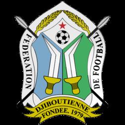 Logo Timnas Sepakbola Negara Djibouti PNG