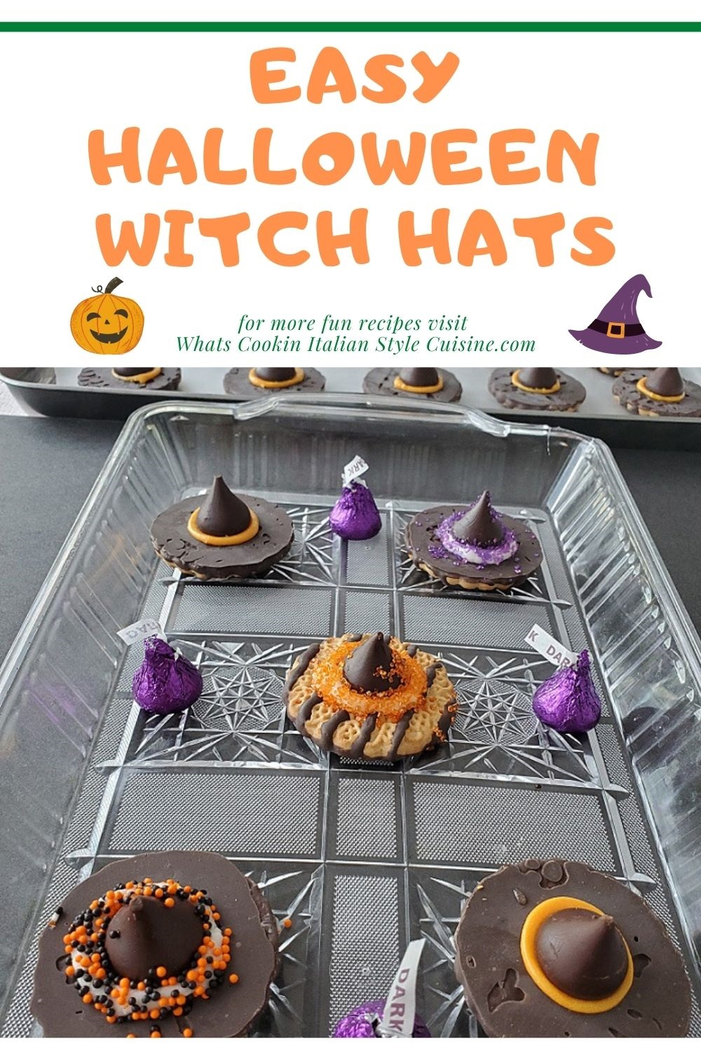 pin for later making halloween witch hats for kids and how to recipe