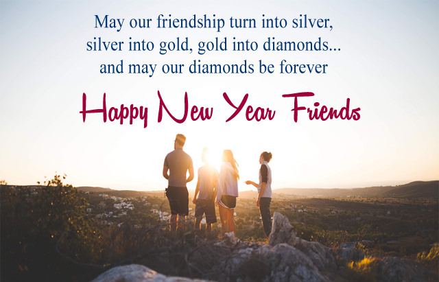 New Year Wishes To Friends