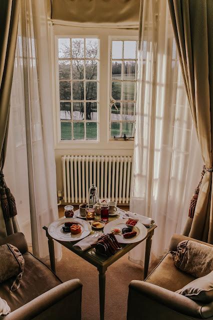 Rushton Hall Hotel & Spa Breakfast Room Service