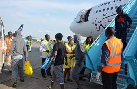 155 nigerians returns libya